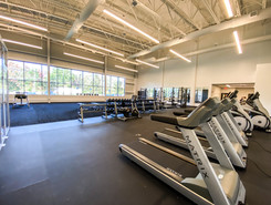 Training space - cardio area
