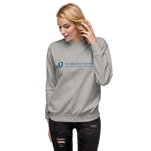 Unisex Fleece Pullover (blue logo)