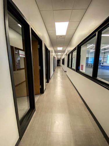 Clinical hallway from main door