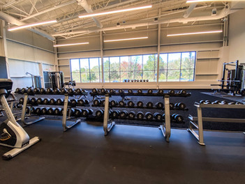 Training space - free weights
