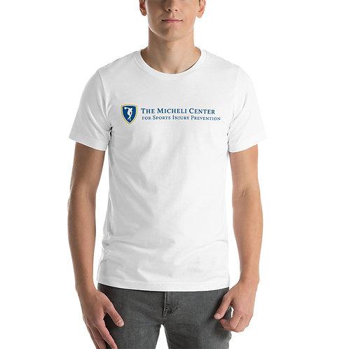 Short-Sleeve Unisex T-Shirt (blue logo)
