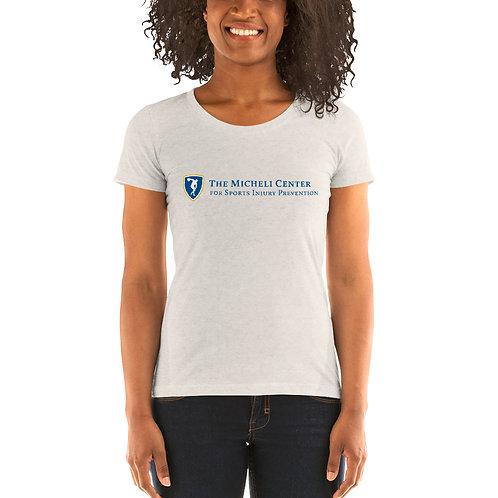 Ladies' short sleeve t-shirt (blue logo)