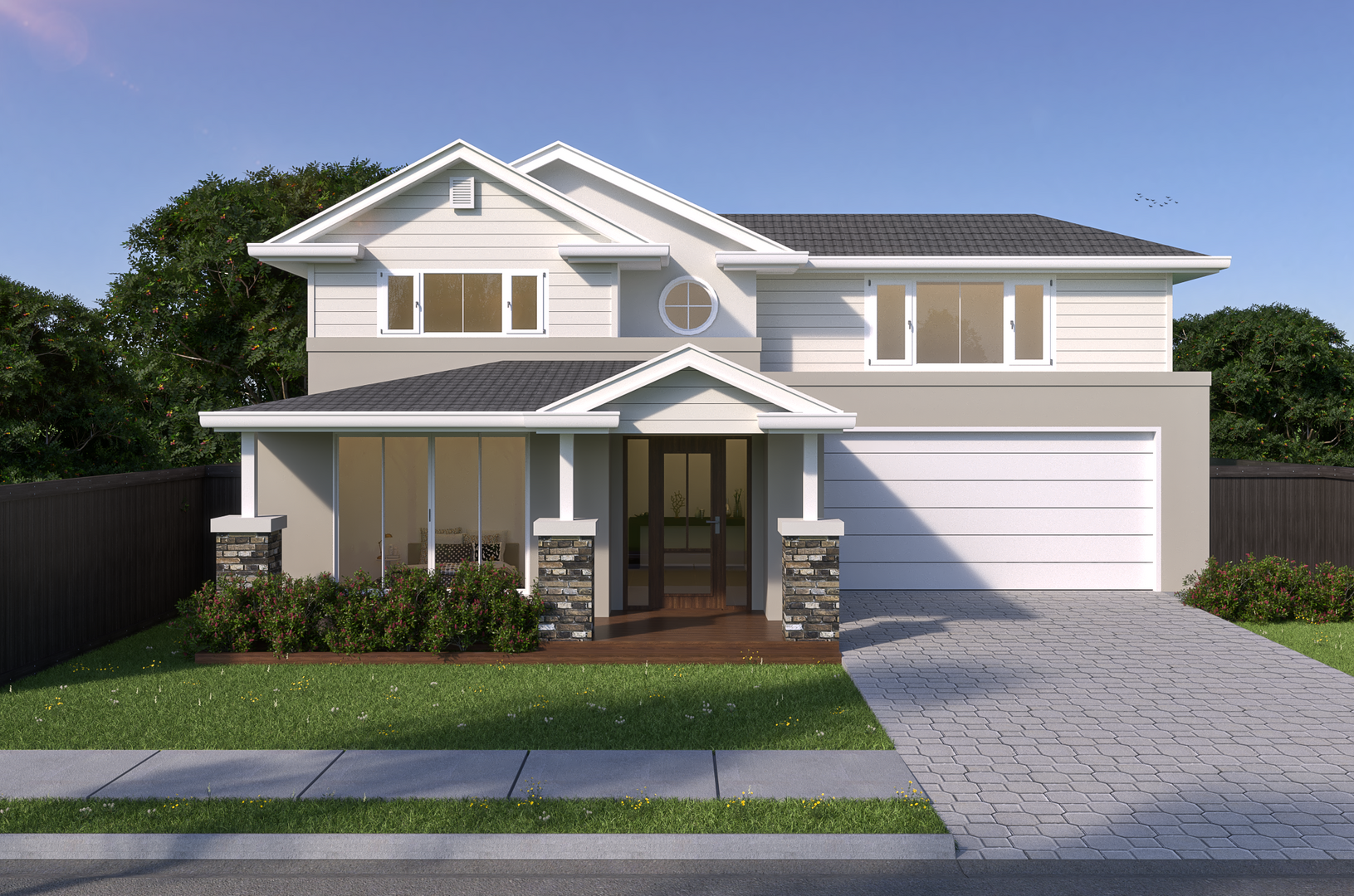 Exterior - Two Storey Hampton
