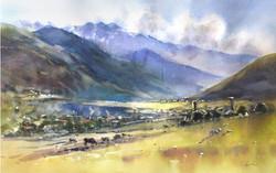 Transcaucasia, 38x56 cm