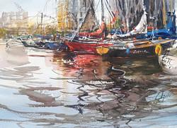 Лодки в Ай-Бурге
