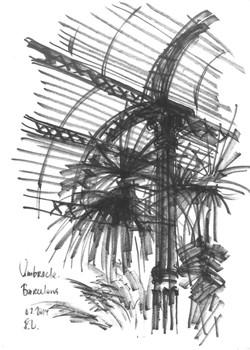 Barcelona. The greenhouse in Parc de la ciutadella ed001