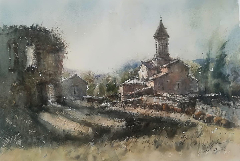 Монастырь Икалто, Грузия