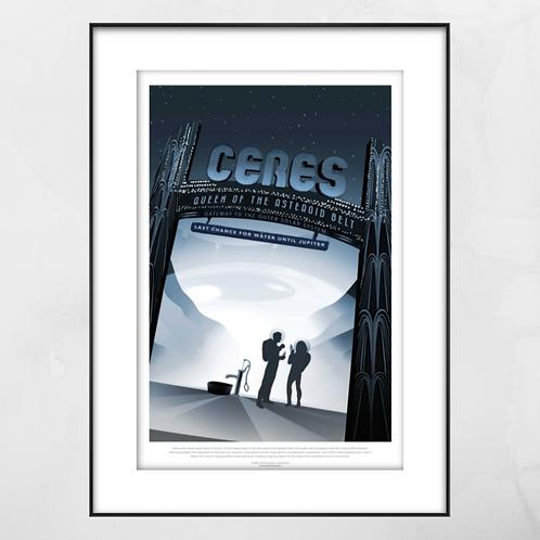 Ceres Framed Print