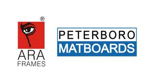 Announcement: ARA Frames <> Peterboro Matboards
