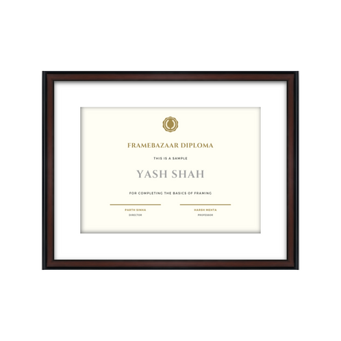 Diploma or Certificate Framing - All Institutions