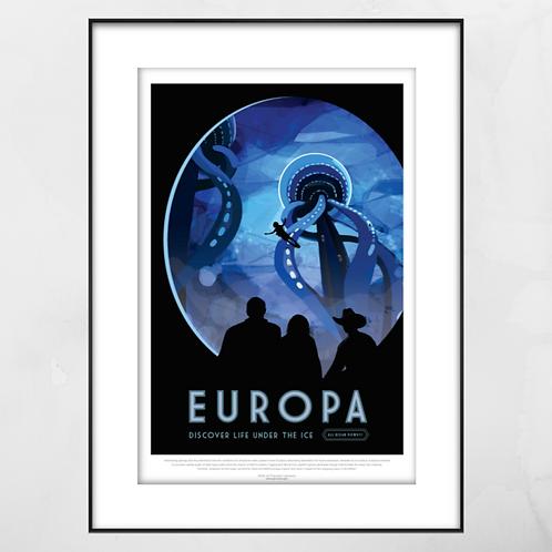 Europa Framed Print