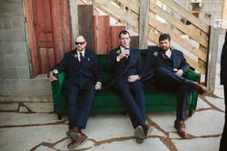 groomsmen - couch