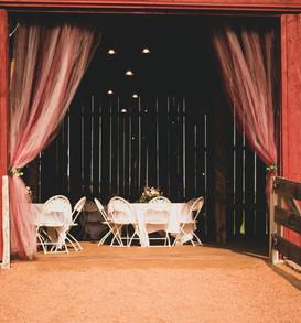 Reception Barn Entrance