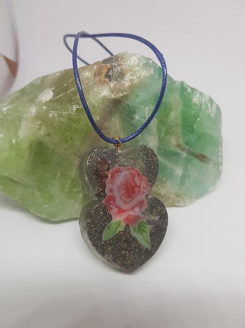 Rose Orgonite® Pendant