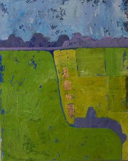 Abstract Summer Fields