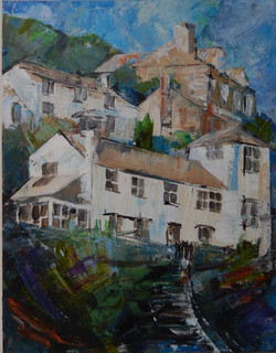 Street in Port Isaac