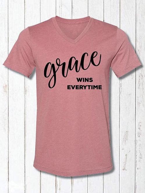 Grace wins