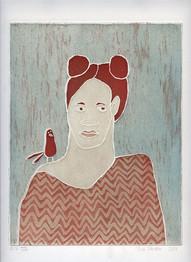 Tyttö ja lintu 3, 2015