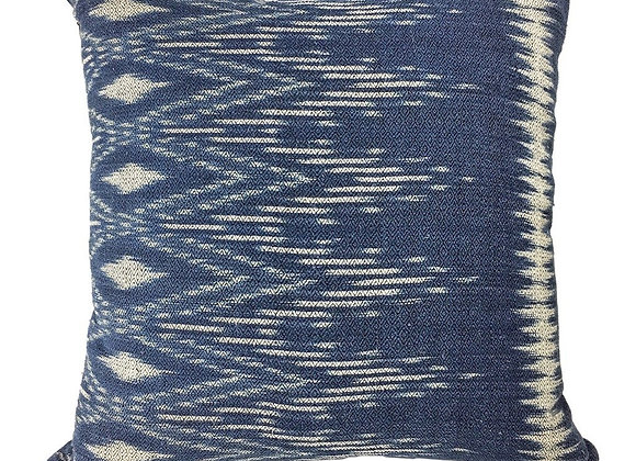 Handmade Indigo Ikat Pillow Cover by SLATE + SALT