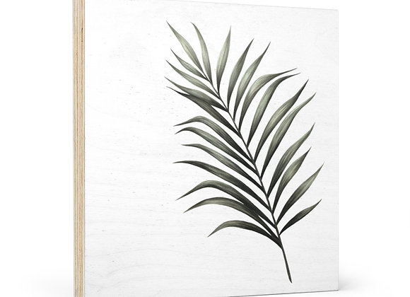 'Perky Palm' Wood Wall Art