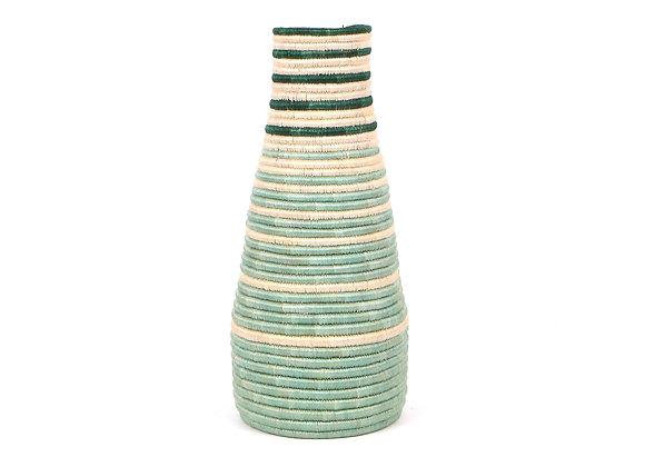 'Bayou' Striped Tall Vase by KAZI