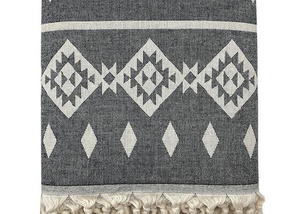Tribal Turkish Throw Blanket by SLATE + SALT