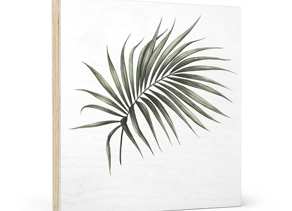 'Peaceful Palm' Wood Wall Art