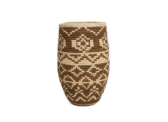 'Imani' Short Floor Basket by KAZI