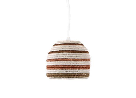 'Shades of Sand Kanisa' Lamp Pendant by KAZI
