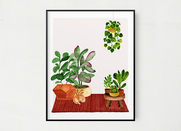 Plant Lover Wall Hanging