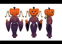 Evil Pumpkin-Lady
