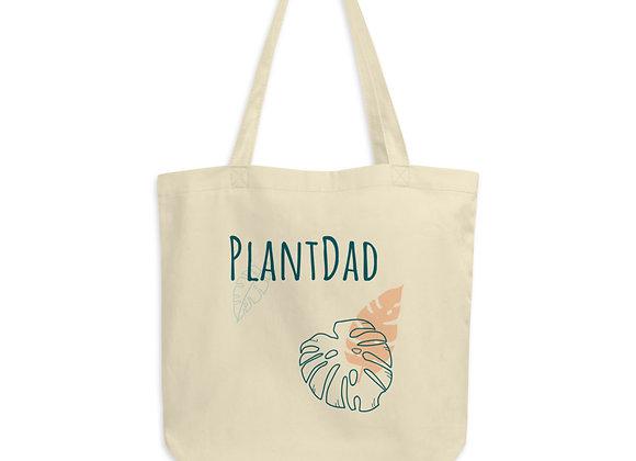 'PlantDad' Organic Cotton Tote