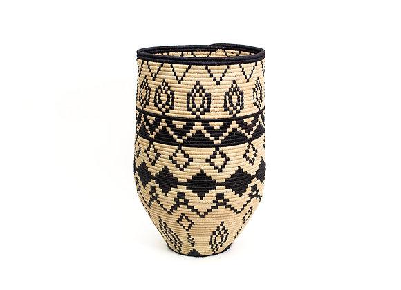 'Aluna' Large Floor Basket by KAZI