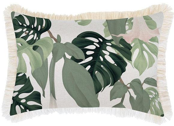 'Hanoi' Pillow Cover with Fringe - Long