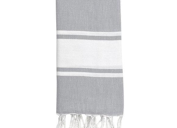 Essential Stripe Turkish Hand Towel by SLATE + SALT