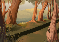 Scenery-Illustration