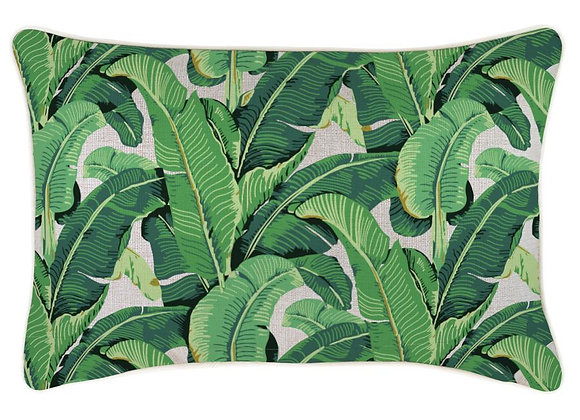 Banana Leaf Pillow Cover - Long