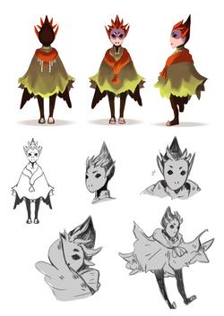 Bird Character Sheet