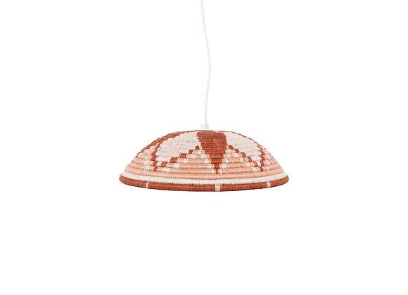 Large 'Dusty Peach' Lamp Pendant by KAZI