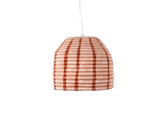 'Dusty Peach' Kanisa Lamp Pendant by KAZI