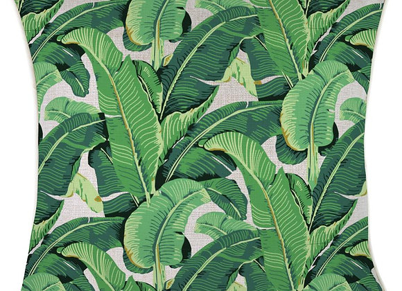 'Banana Leaf' Pillow Cover - Square