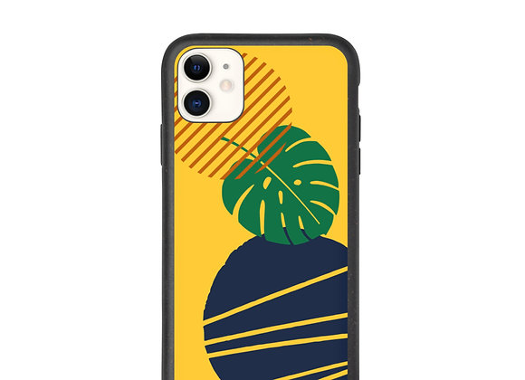 'Monstera' Biodegradable iPhone case