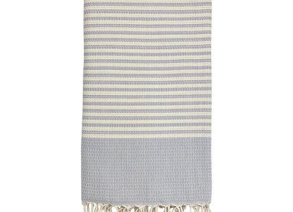 Textured Stripe Turkish Towel by SLATE + SALT