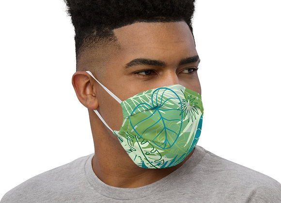 'Tropics' face mask