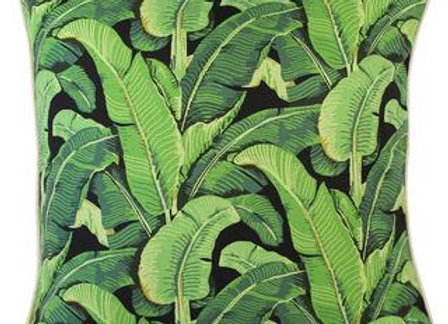 Banana Leaf Pillow Cover - Square