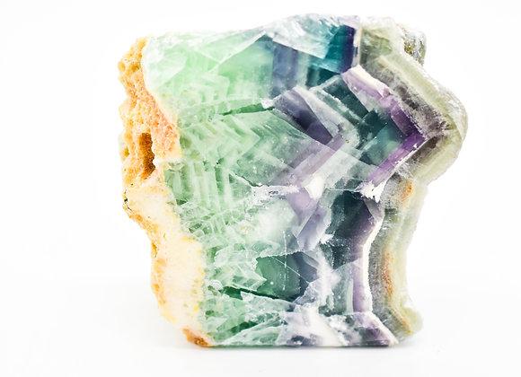 Rainbow Fluorite Rough Stone