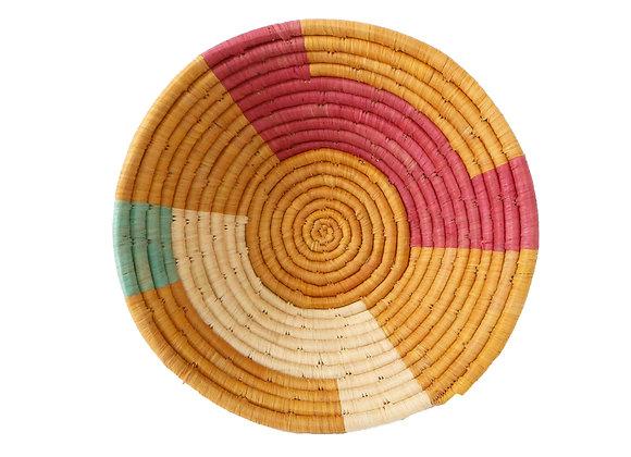 "'Goldenrod + Apricot Msanii' Basket 10"""