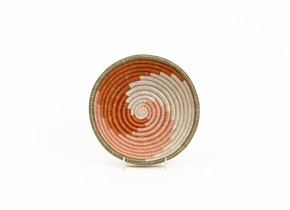'Canyon Clay Unity' Small Round Basket by KAZI
