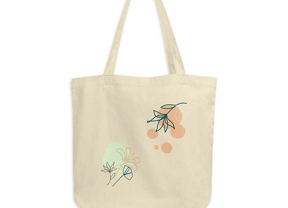 'Flowers' Organic Cotton Tote