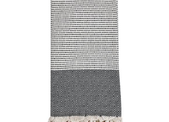 Diamond Stripe Turkish Towel by SLATE + SALT